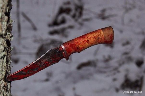 Каким должен быть клинок и рукоять ножей для охоты