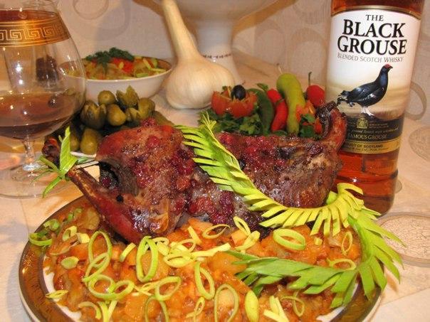 8 блюд из тетерева